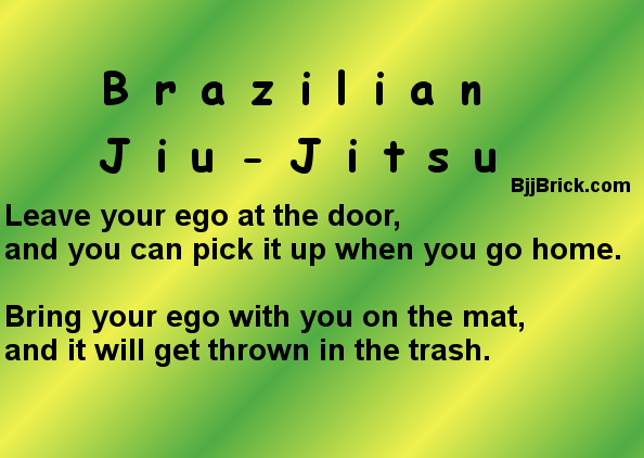 BJJ ego at the door