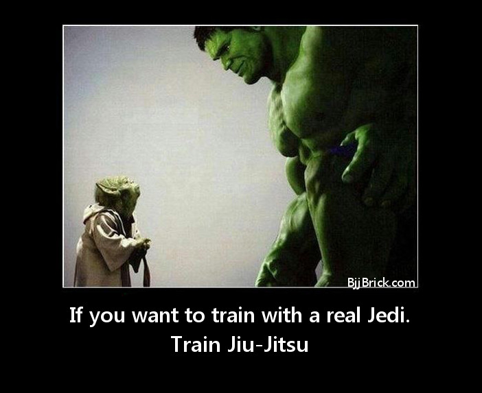 train with a real Jedi