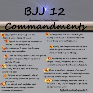 12 commands of bjj