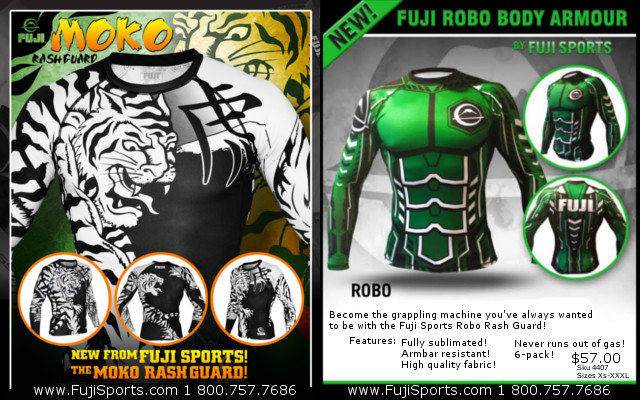 Enter to win one of these great Fuji Sports rash guards.