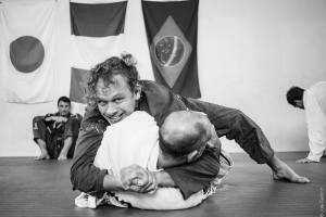 Good times on the mat with Christian Graugart