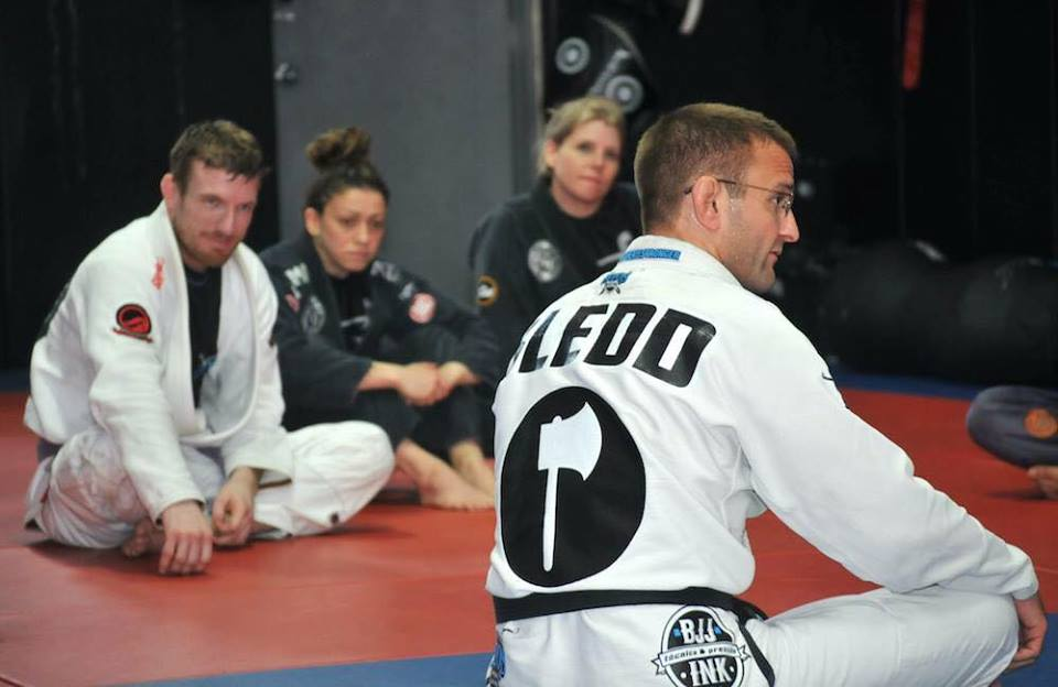 Tim Sledd bjj black belt atos